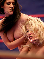 Go to Nudefightclub Presents Larah Vs Diana Stewart Free Pictures Gallery