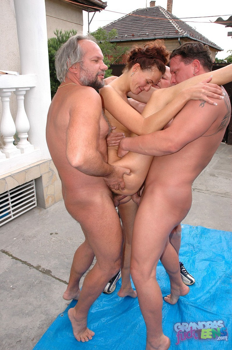 Grandpas Fuck Teens, picture #06 - Nasty Teengirl at Tomorro